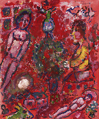 Marc Chagall - Joie